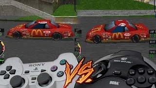 PlayStation Vs Sega Saturn - Andretti Racing