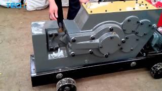 Angle steel cutting machine