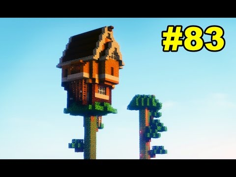 Minecraft Survival #83 - A Casa na Árvore do Canal C
