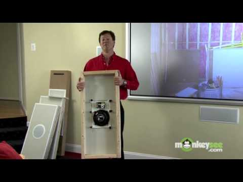 In Wall Home Theater Systems installing in-wall speaker for your home theater - youtube