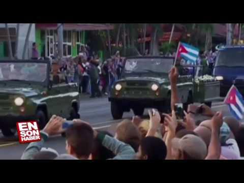 Castro'nun Külleri 4 Günlük Yolculuğuna Başladı   Güncel Günlük Haberler