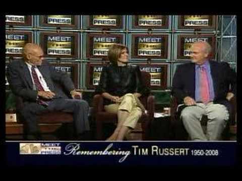 meet the press ratings since russert died