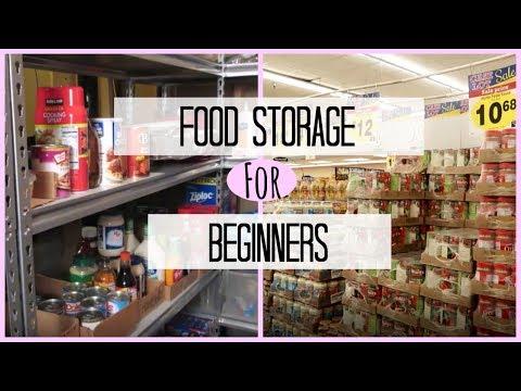 Food Storage For Beginners