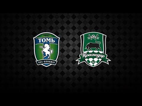 Прямая трансляция матча «Томь» (Томск) – «Краснодар»