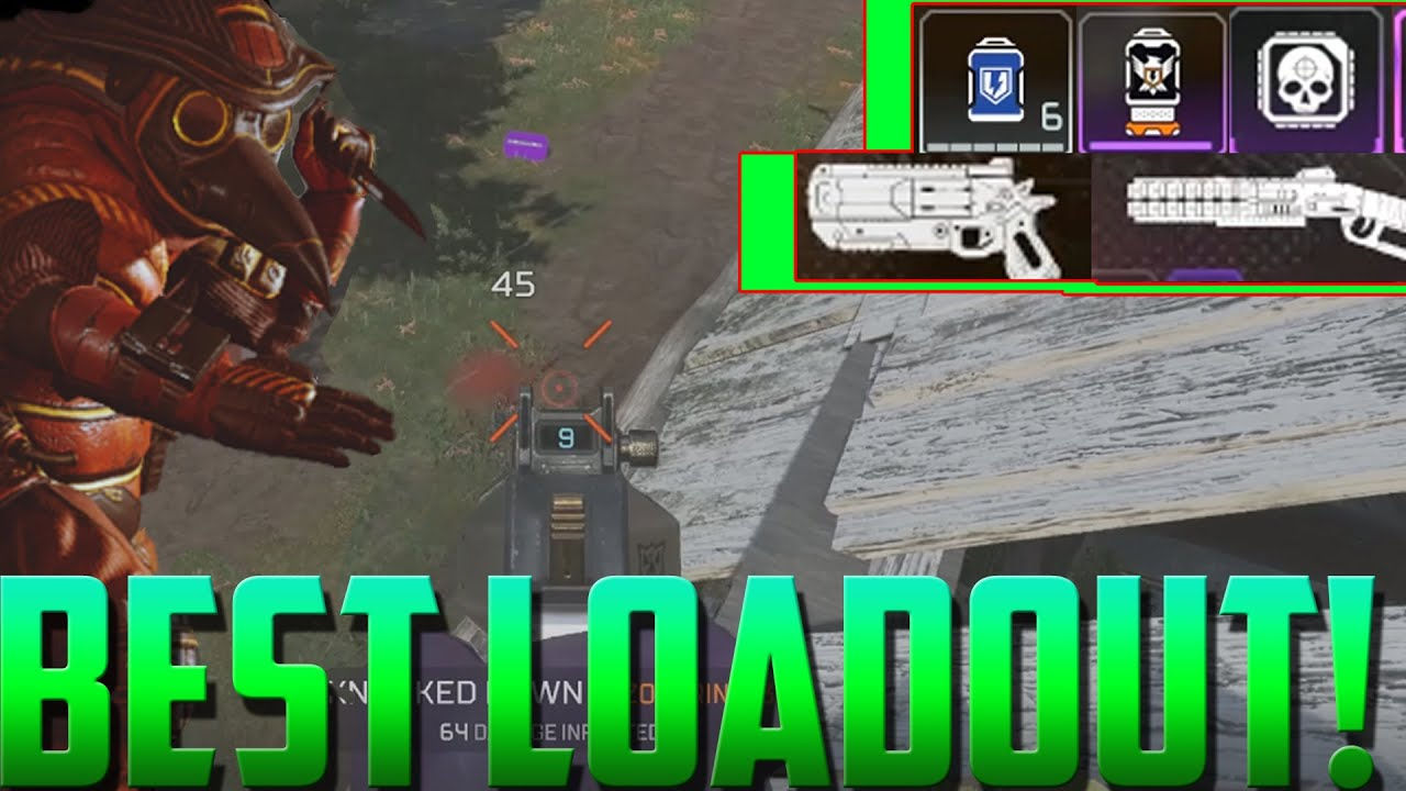 Apex Legends Best Loadout for Aggressive Players | Items To