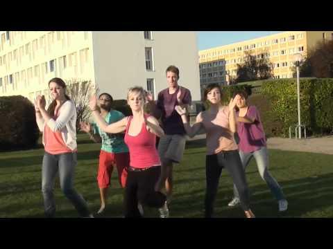 Journée Sport Campus : Flash mob de l'Université de Caen Basse Normandie