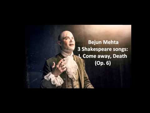 "Bejun Mehta: The complete ""3 Shakespeare songs Op. 6"" (Quilter)"