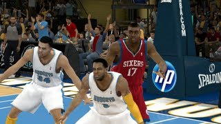 NBA 2K13 - Denver Nuggets vs. Philadelphia 76ers (NBA 2K12 PC)