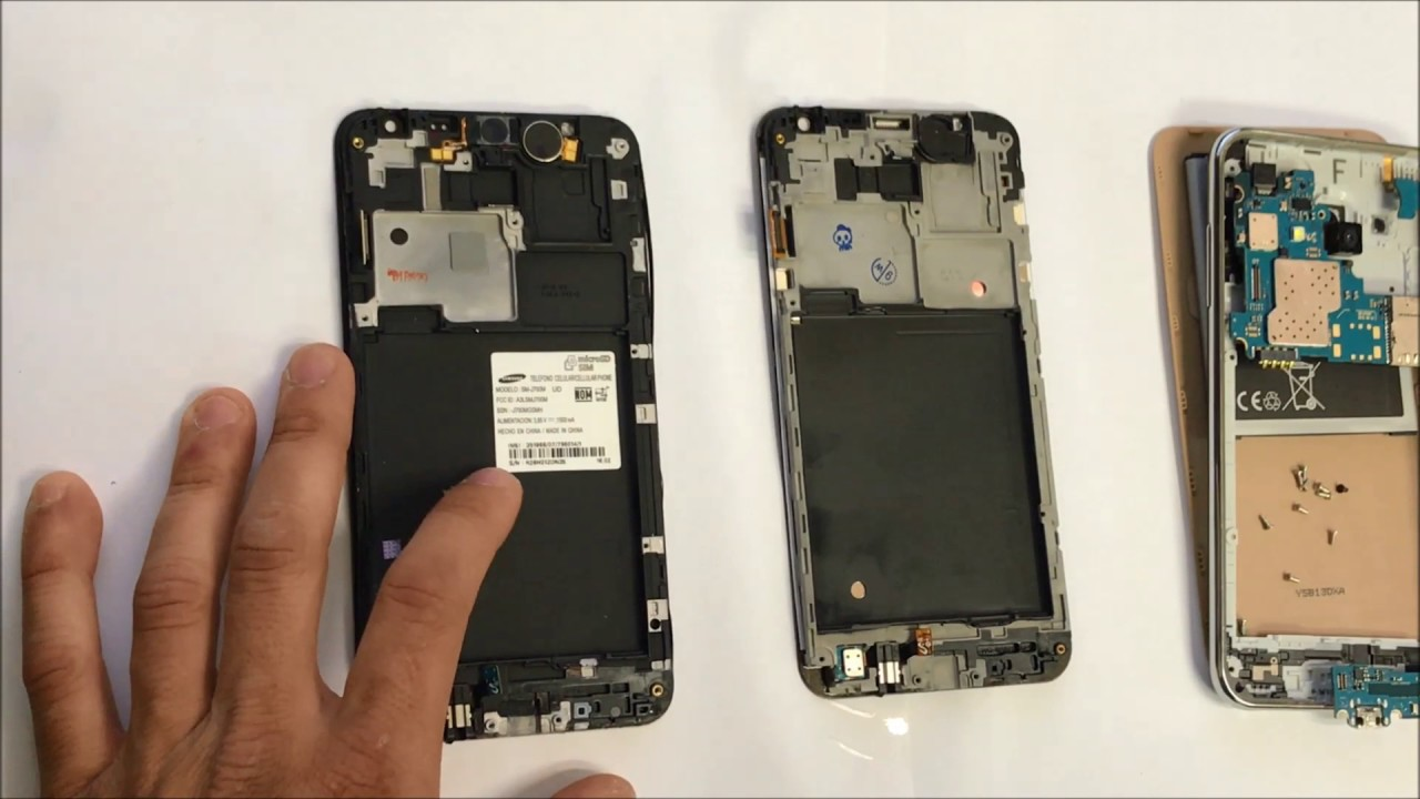 Samsung Galaxy J7 How To Take Apart Replace Lcd Glass Screen