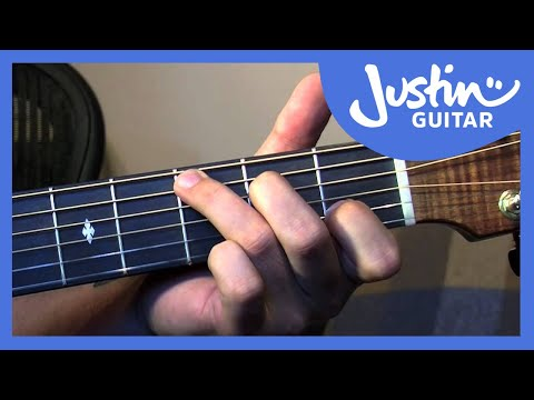 Happy Birthday Guitar Lesson - Fingerstyle Easy Folk Guitar Songs [FO-105]