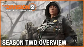 Tom Clancy's The Division 2: Warlords of New York Season Two Overview Trailer | Ubisoft [NA]