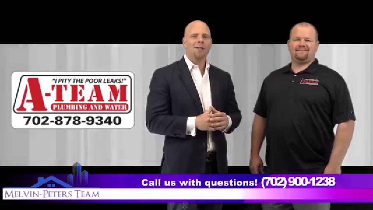 A Team Plumbing Water Interview With Las Vegas Realtor