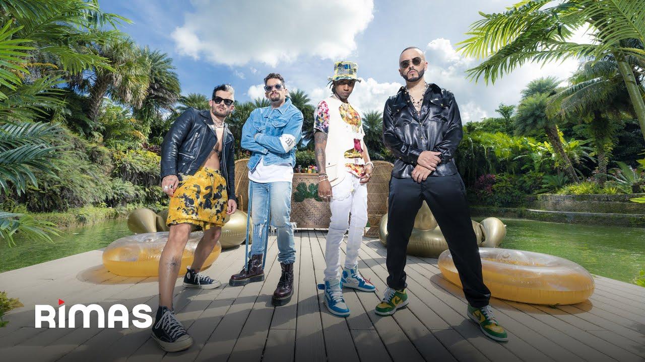 Amenazzy x Yandel x Mau y Ricky - Calmarme II (Video Oficial) - YouTube