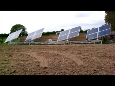Rotating Solar Panel System