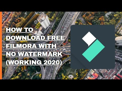 HOW TO GET FILMORA 9 FOR FREE + WITH NO WATERMARK (WORKING 2020)