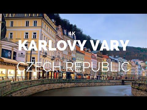 Karlovy Vary, Czech Republic (4K)