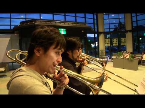 A  Song for Japan for Trombone Duet