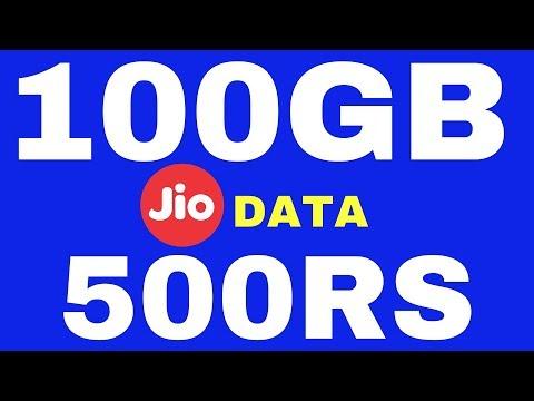 JIO FIBER Broadband Plans - 100GB @ 100Mbps for Rs.500! [Hindi]