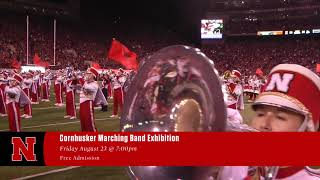 2019 Cornhusker Marching Band Exhibition Performance Commercial