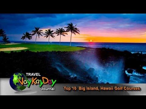 Hawaii Golf  - Hawaii Golf (Big Island) Top 10 Golf Courses