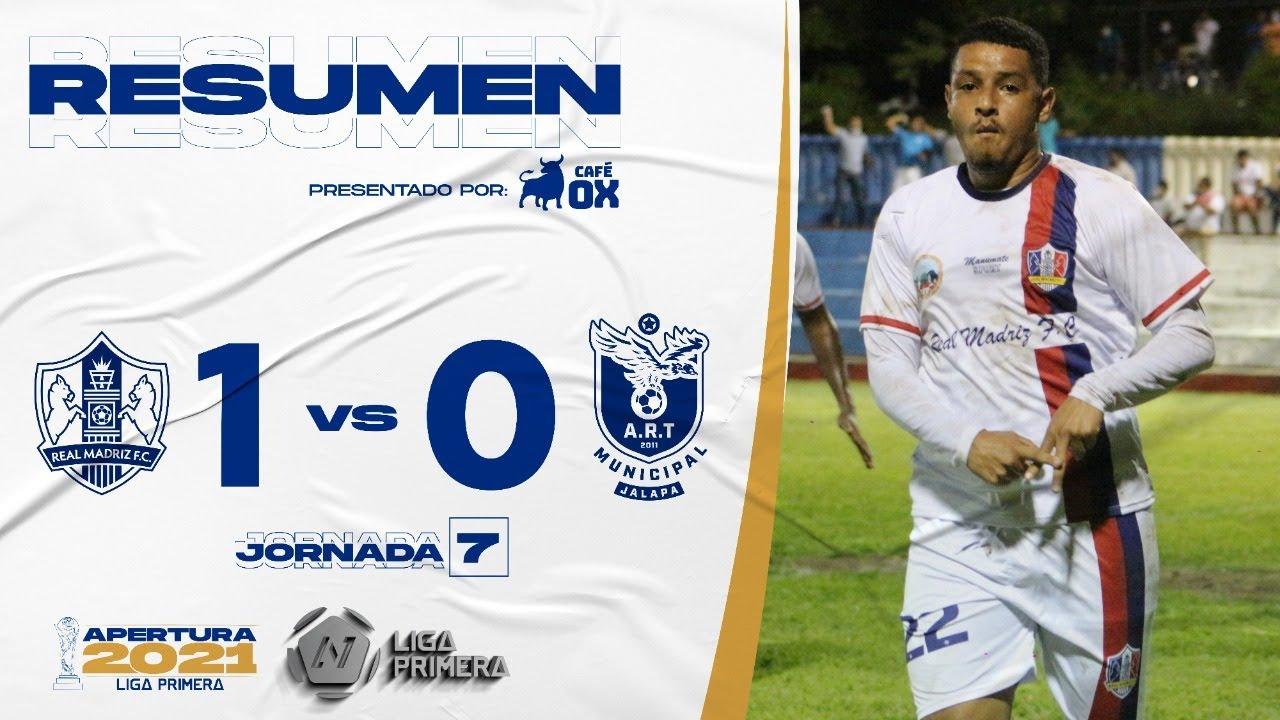 Resumen   Real Madriz FC vs ART Jalapa   Jornada 7 - Presentado por Café OX