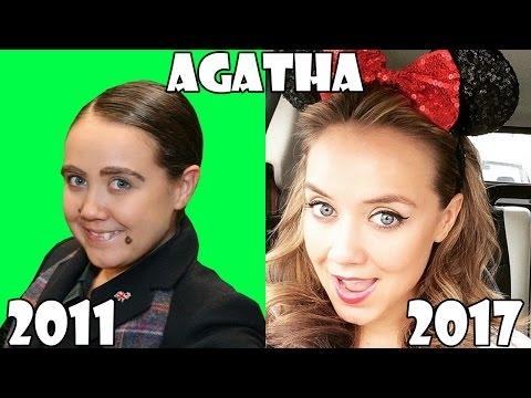 Jessie Before and after 2017 (Jessie Television series ... Jessie Show 2017