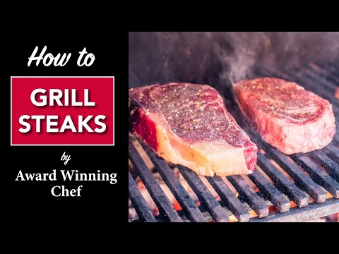 🔥 How To Grill A Good Steak By Master Chef Robert Del Grande