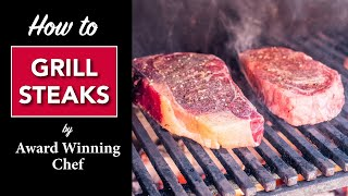 Chef Robert Del Grande: How to Grill a Good Steak