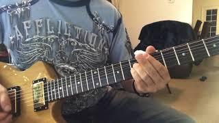 Kак играть  cоло The Unforgiven, 'урок' на гитаре