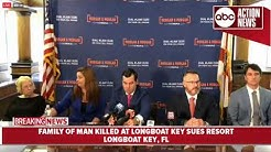 Family of man murdered at Longboat Key resort files lawsuit against resort | News Conference