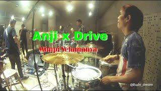 Drive - Mimpi Selamanya (Drum Cam) latihan Anji x Drive