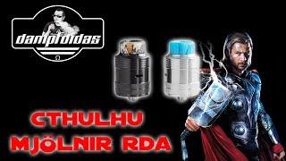 Cthulhu Mjölnir RDA Single Coil Bottom Airflow Review