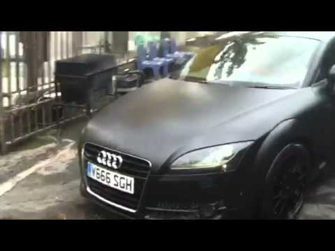 Audi TT V6 Matte black Stage 2 - YouTube