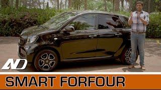 Smart ForFour - El microauto perfecto para la ciudad