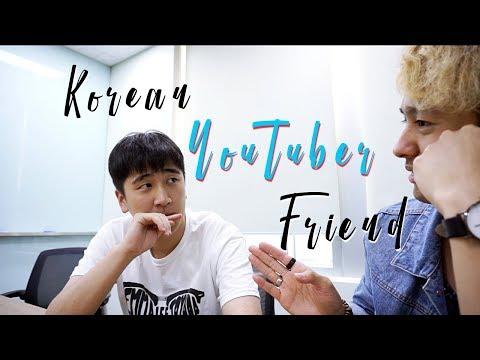 My First Korean YouTuber Friend & Clubs   NIGHT MASK TALK