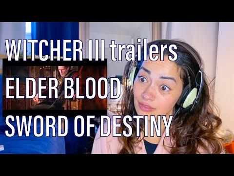 WITCHER III: Wild Hunt trailers | watching Elder Blood and Sword of Destiny