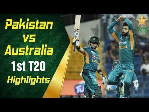 Pakistan Vs Australia 2018 | 1st T20I | Highlights | PCB
