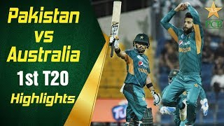 Pakistan Vs Australia | 1st T20I | Highlights | PCB