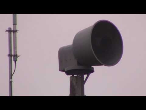 SINGLE-TONED ACA P-15 Siren Test @ Everett Dirksen Elementary School, Schaumburg, IL – 5/5/20