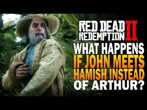 What Happens If John Helps Hamish Instead Of Arthur Red Dead Redemption 2 thumbnail
