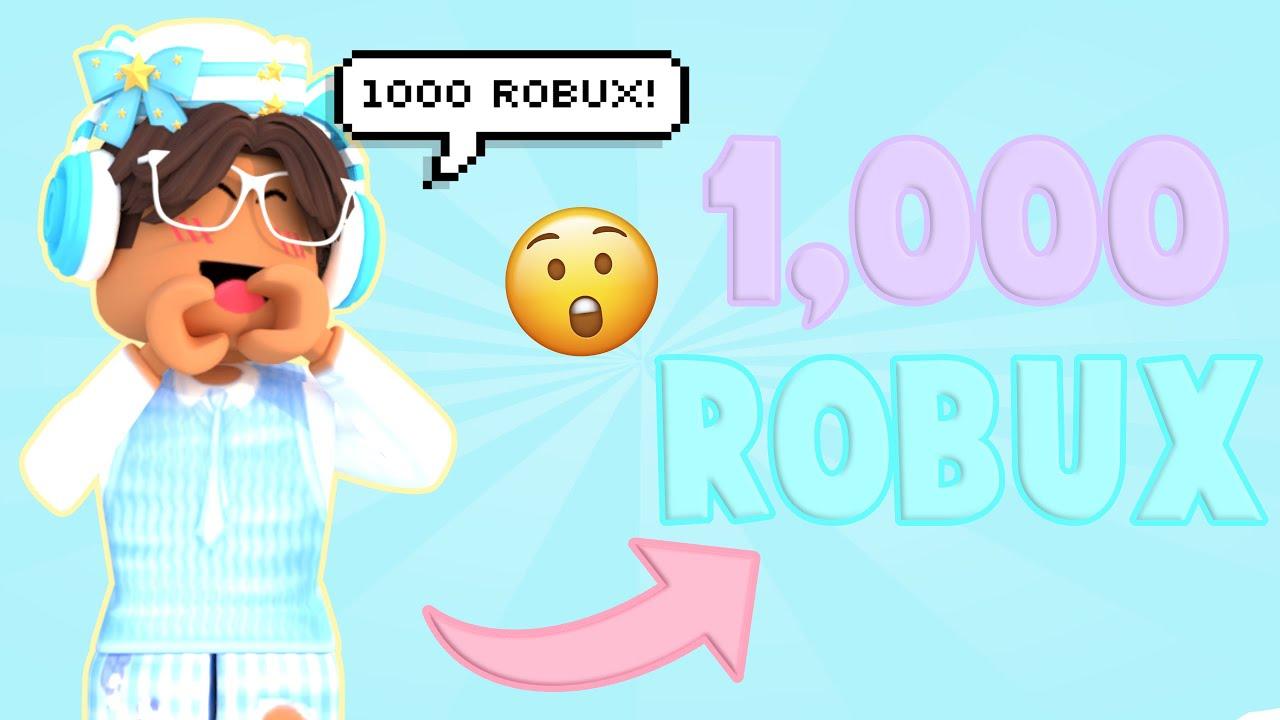 1,000 ROBUX GIVEAWAY | OPEN | xitskylex