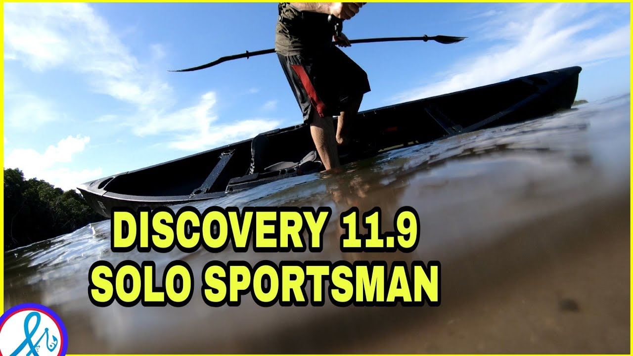 Old Town Discovery 11 9 Solo Sportsman Canoe Stability Test