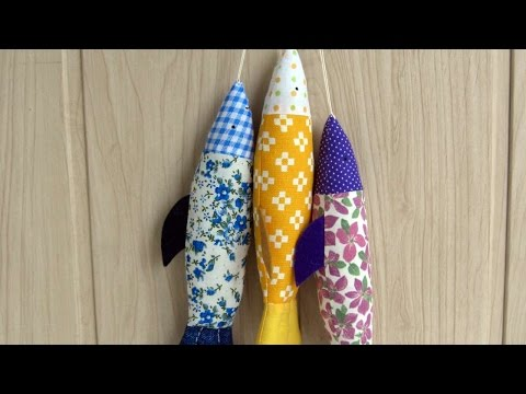 How To Make A Fun Fabric Fish - DIY Crafts Tutorial - Guidecentral