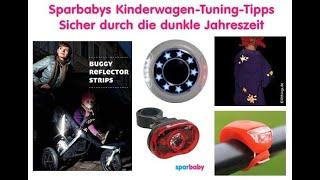 So schlecht wird dein Kinderwagen im Dunkeln gesehen - 6 Tipps für bessere Beleuchtung