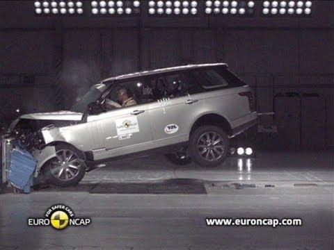 Range Rover 2013 Crash Test Youtube
