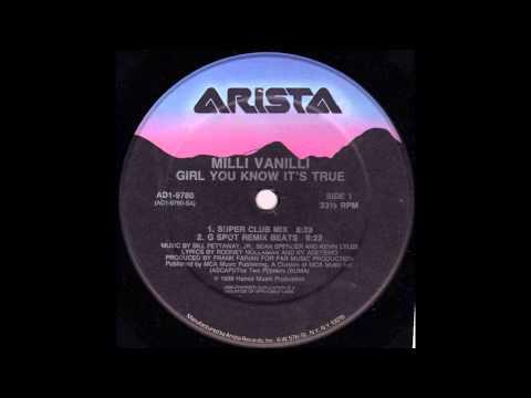 Girl You Know It's True (Super Club Mix) - Milli Vanilli