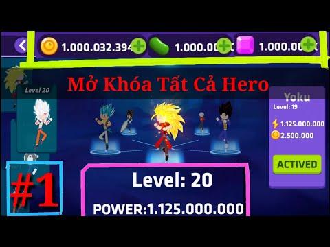siêu anh hùng và giải đấu sức mạnh toàn vũ trụ hack - Stick Super Fight   #1   Mở khóa tất cả Siêu Xayda   KasubukTQ