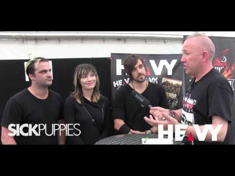 Sick Puppies at Download Festival 2017 | HEAVY TV Interviews