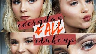 Everyday Fall Makeup   2016