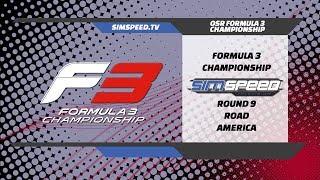 Oceanic F3 Championship | Round 9 | Road America